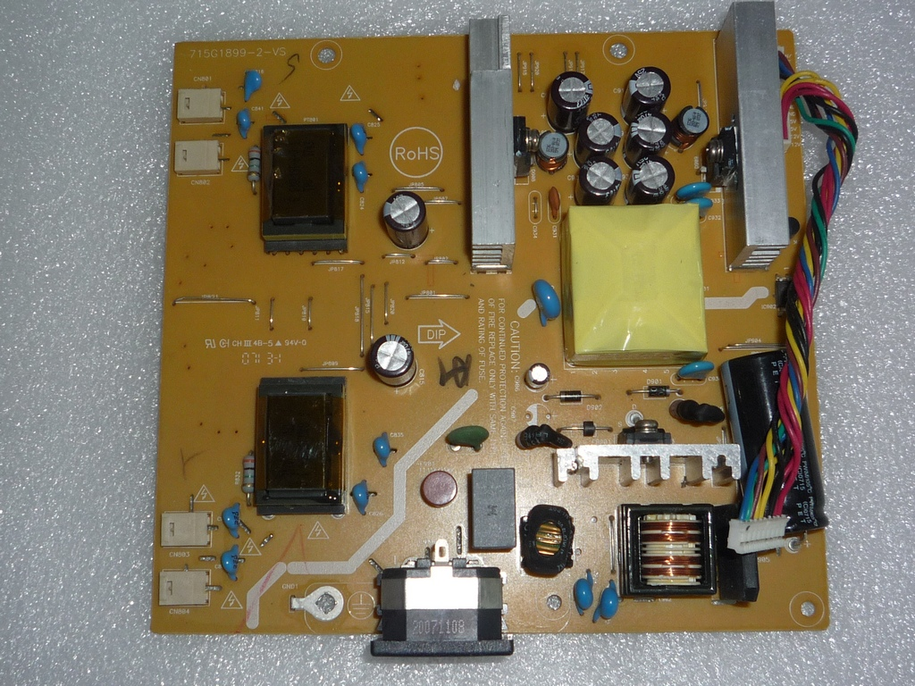 AOC 912SW LCD Power board 715G1899-1-HP