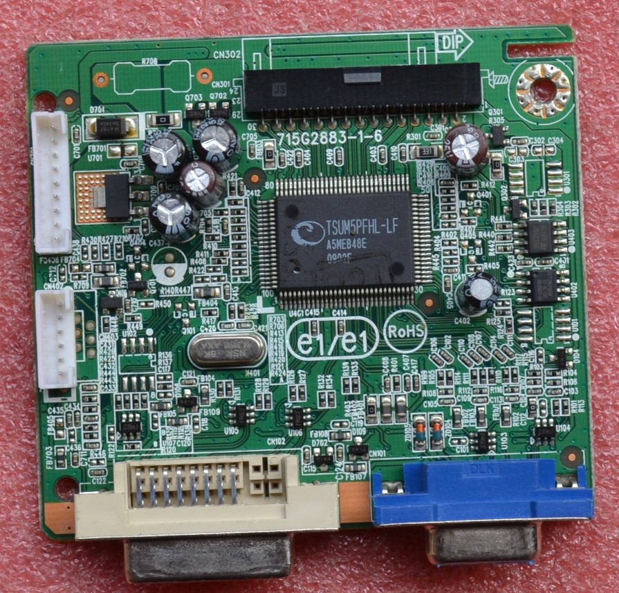 Acer V223W LCD Driver board 715G2883-1-6