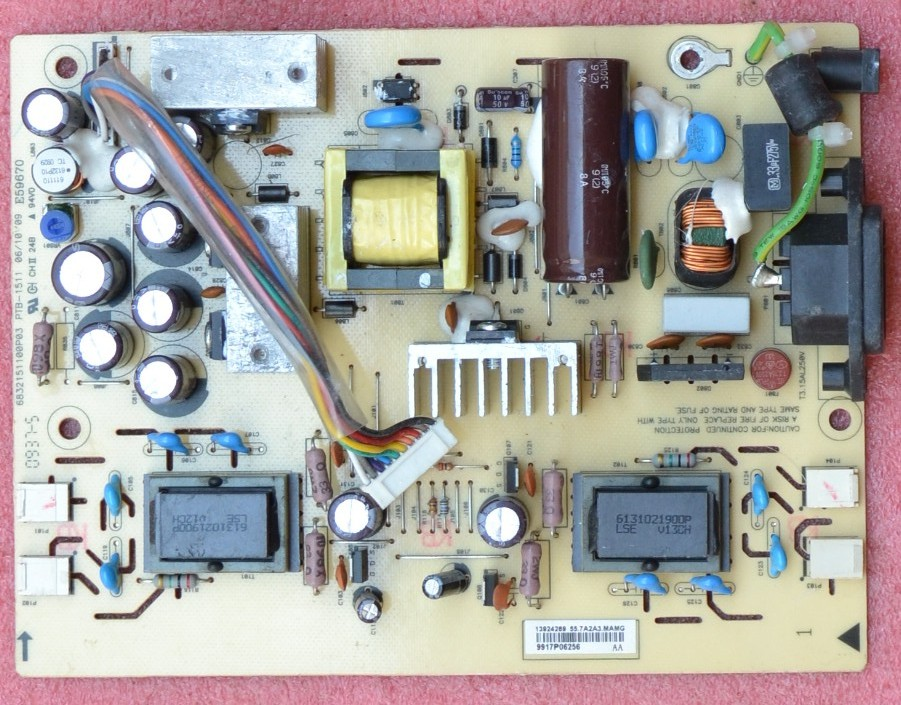 For Dell 1706FPT LCD Power board PTB-1511