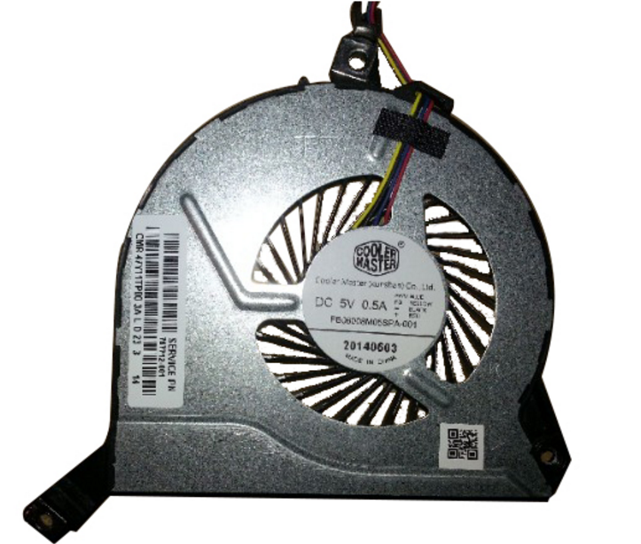 New HP Pavilion 15-p214dx 17-f113dx 17-f114dx cpu cooling Fan