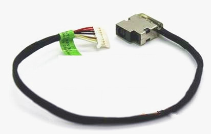 Brand New HP 17-X026UR 17-X027CL 17-X027DS Power Jack Connector DC IN Cable