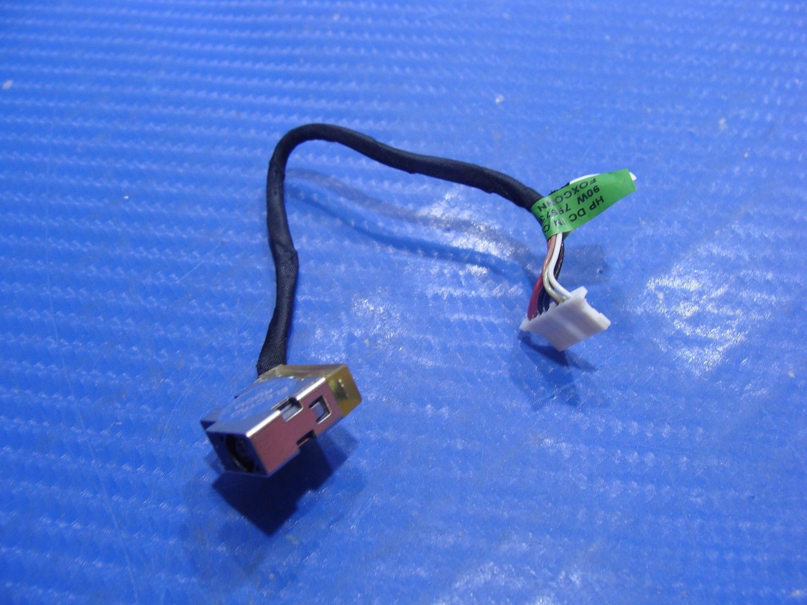 "HP 14-an012nr 14"" Genuine DC-IN Power Jack w/ Cable 799736-F57"