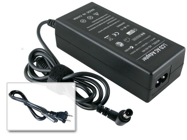 25W LG LED Monitor M37 22M37A 24M37D AC Adapter Charger Cord