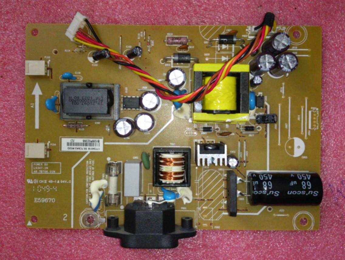 for HP S2032 E59670 LCD Power board 48.7B706.010