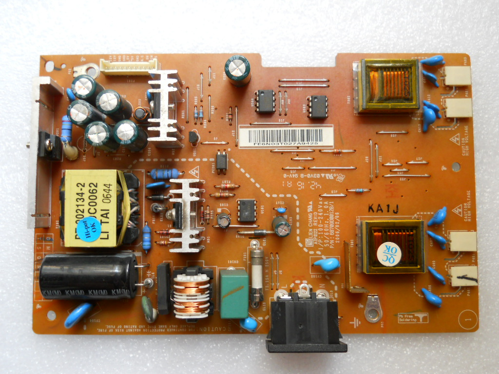 genuine lg w1942st lcd power board aip0122 68709d0012b/1