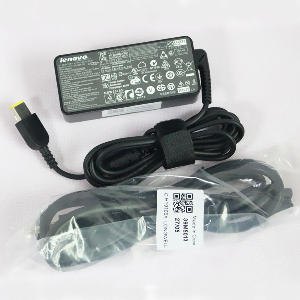 45W charger for Lenovo ThinkPad X1 Carbon 20FB005JUS